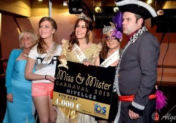 2 sur 3 ! Bravo à Céline et Paolina, Dauphines du Carnaval de Nivelles 2015